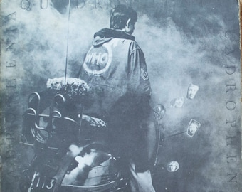 The Who Quadrophenia Vintage 1973 Original Hard Rock Track Record I Am The Sea Vinyl Record Album LP