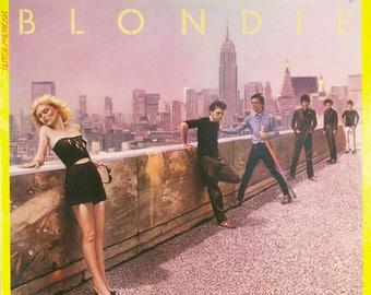 Blondie AutoAmerican Vintage 1980 Chrysalis Records Original Vinyl Record LP