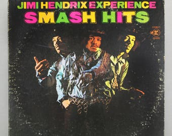 Jimi Hendrix Experience Smash Hit 1968 Blues Psychedelic Rock Original Vintage Vinyl Record Album LP