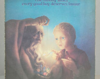 The Moody Blues Every Good Boy Deserves Favour 1971 Psychedelic Rock Original Vintage Vinyl Record Album LP