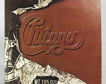 Chicago - X Album Columbia Records 1976 Original Vintage Vinyl Classic Rock Record LP