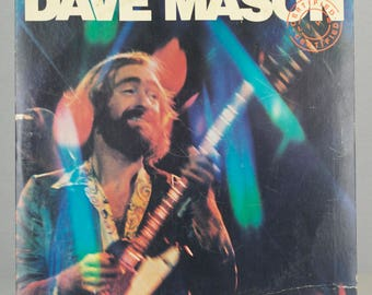 Dave Mason Certified Live 1976 Columbia Records Rock N' Roll Original Vintage Vinyl Record LP