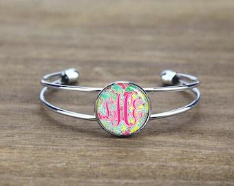 monogram bangle bracelet, monogrammed bangle bracelet, Bridesmaid bangle, custom initials bangle, monogram initials, wedding gift
