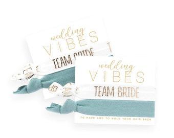 Bridal Party Proposal Gift Slate Blue Bridesmaid Box Hair Ties Navy Blue Bridesmaid Gift Dusty Blue Bridesmaid Proposal Hair Tie Gift