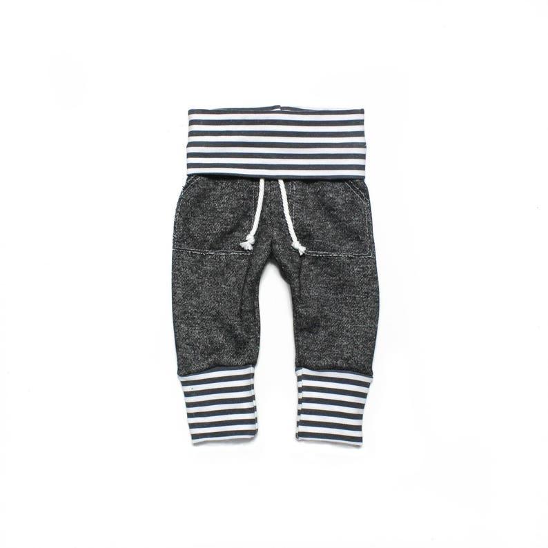 0b07e85a Black sweatpants baby sweatpants infant sweatpants toddler   Etsy