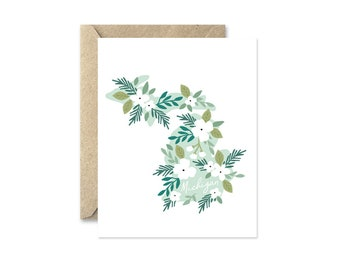 Michigan Bouquet - Greeting Card