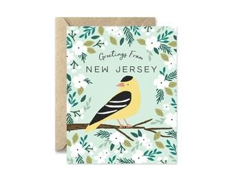 New Jersey State Bird - Greeting Card