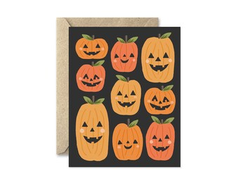 Pumpkin Patch - Greeting Card