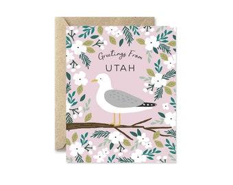 Utah State Bird - Greeting Card