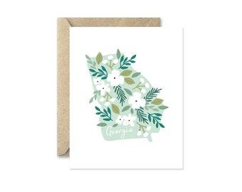 Georgia Bouquet - Greeting Card