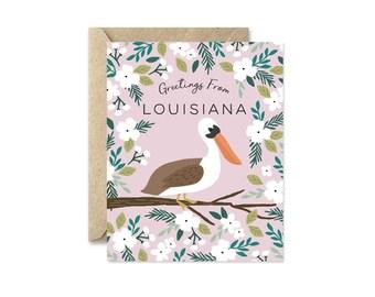 Louisiana State Bird - Greeting Card