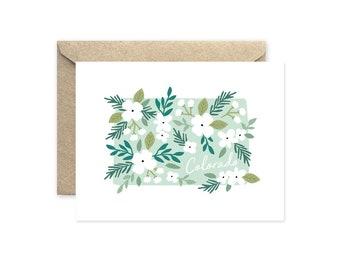 Colorado Bouquet - Greeting Card