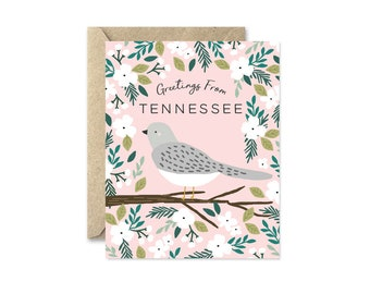 Tennessee State Bird - Greeting Card