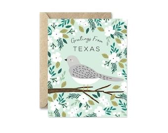 Texas State Bird - Greeting Card
