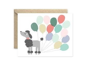Fancy Dog - Greeting Card