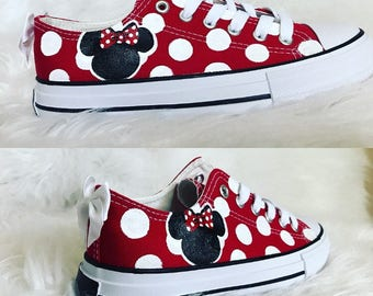 converse minnie mouse shoes