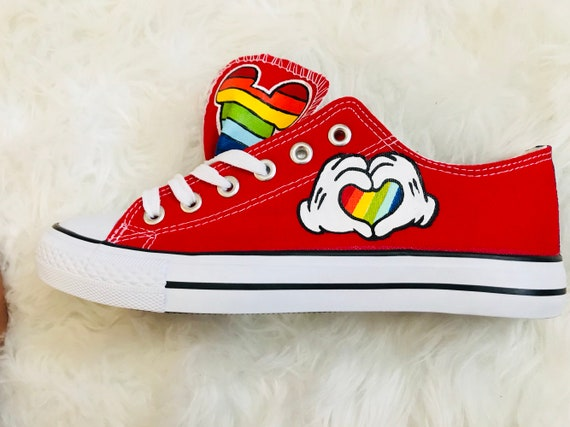 converse shoes disney