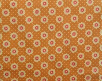 Riley Blake Fabric Vintage Daydream Gold Fabric
