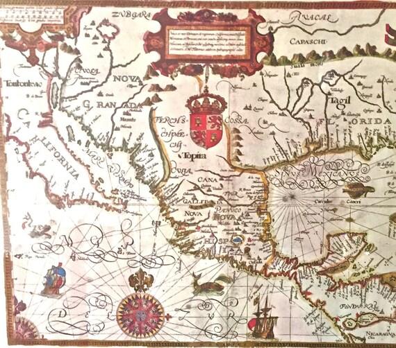 Heritage Vintage Map \