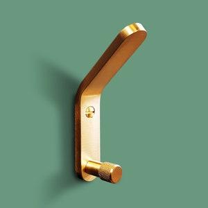 Jam Solid Brass Wall Hook