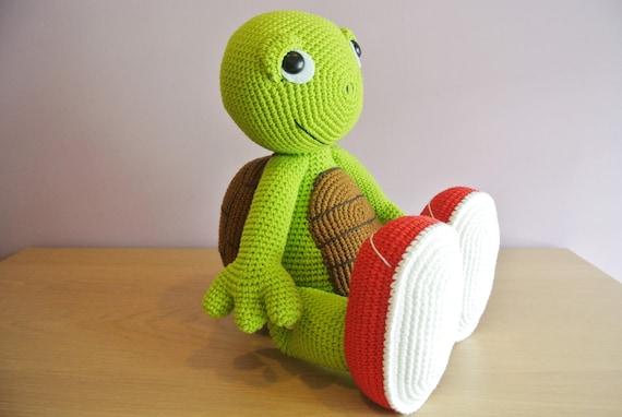 Crochet Turtle Amigurumi Handmade Crochet Amigurumi Toy Doll Etsy