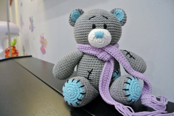 Crochet bear amigurumi | Tricot et crochet, Modele crochet gratuit ... | 381x570