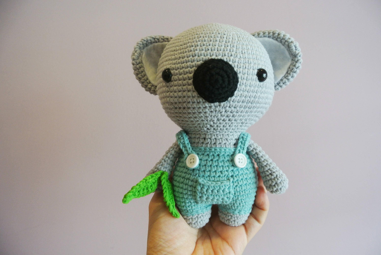 Oso de Koala Koala de ganchillo Amigurumi muñeca de juguete | Etsy