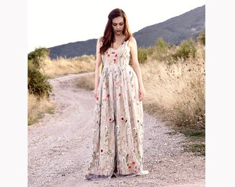 Embroidered Tulle Dress c4743a8322c