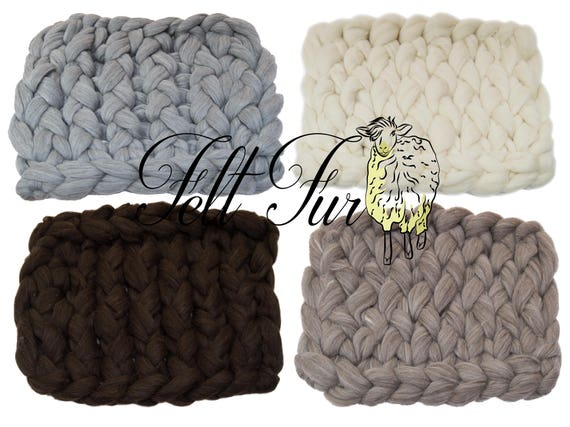 basket stuffer  layer blue curly wool prop by FelFur layering blanket basket filler Newborn Prop Extremely Chunky Mat Bump Blanket