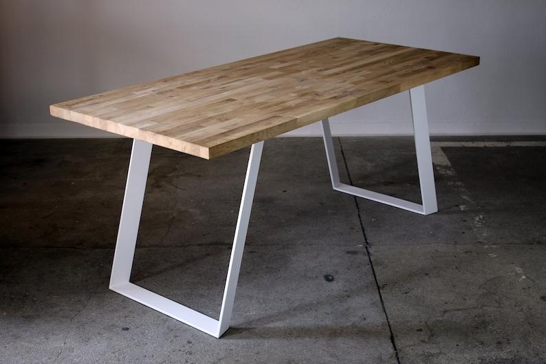 Tavolo gambe tavolo stufa tavolo piedi acciaio metallo bianco tavolo loft  industriale