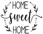 DIY in a Box Wood Sign Kit Home Sweet Home Do It Yourself
