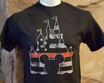 Mickey Fire Shirt Etsy