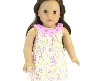 18 in Doll Clothes Fits American Girl Flower Gem Sun Dress
