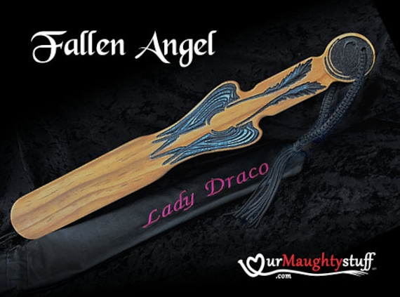 Fallen Angel BDSM Spanking Paddle