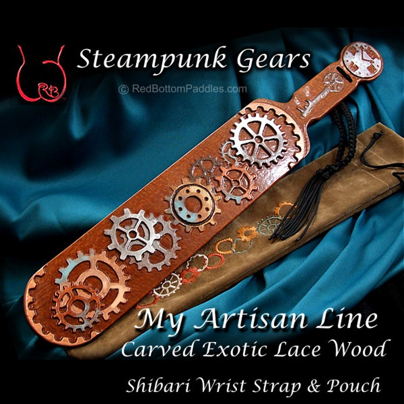 Steampunk Gears Select Exotic Lace Wood includes Gear image 0