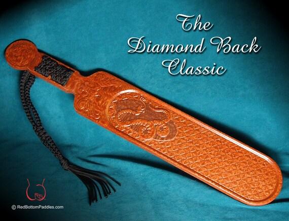 Spanking Paddle Classic Diamond Back