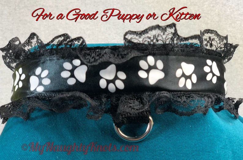 Collar for your Pet Adjustable Lockable Adult Play image 0