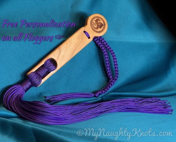 Purple Dragon 'Little Nasty' Stinger Mistress, Master, Gift, BDSM Flogger, for Adult play, free personalization