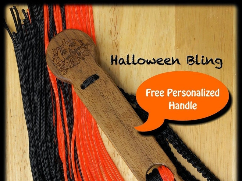 Halloween Bling Personalized Custom Stinger Flogger with image 0