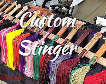 Custom Flogger, Stinger, Free Personalization, Free shipping, Gift, Multi Color