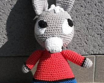 Ane Trotro Modele Patron Amigurumi Crochet PDF (en français)