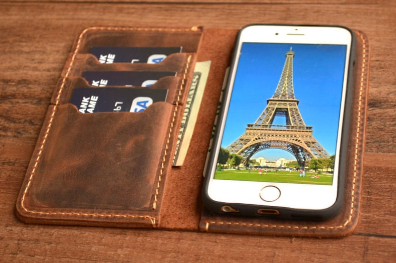 8 iphone case leather