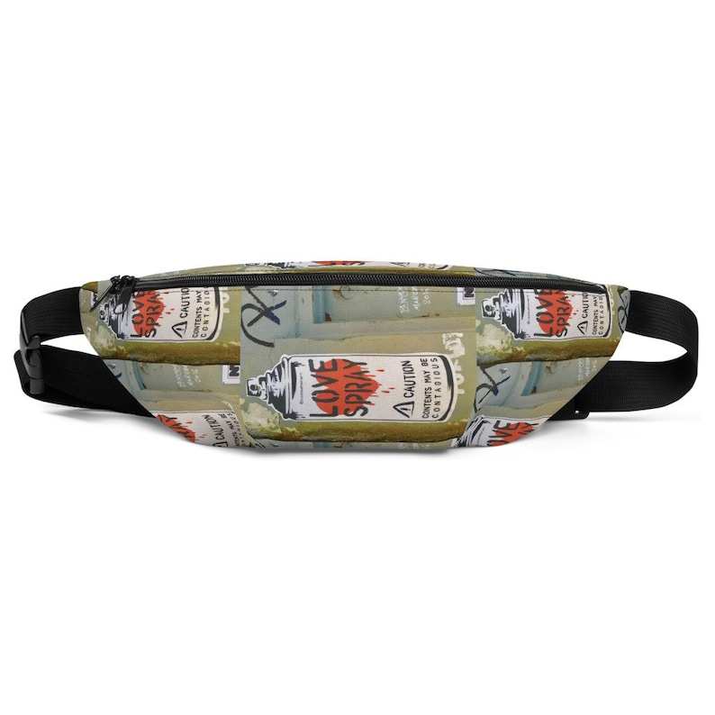 Graphic Love Fanny Pack