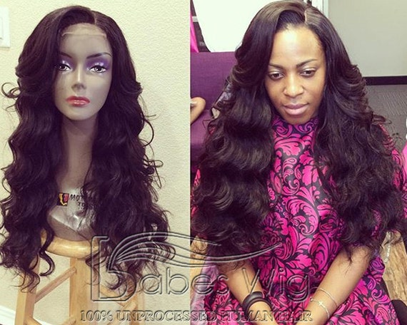Top Quality unprocessed human hair lace front wigs cheap human  357c51b61