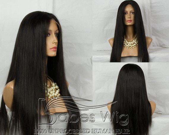 100% Brazilian Human Hair Glueless Full Lace