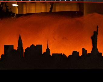 New York City Centerpiece - Acrylic - Engraved