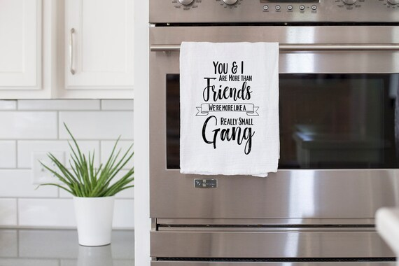 Powered by Tequila Funny Kitchen Towel Personalized Towel Flour Sack Kitchen Dish Towel Funny Tea Towel Kitchen