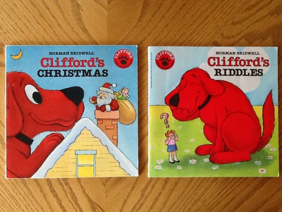 Miraculous Clifford The Big Red Dog Set Of 2 Childrens Books Cliffords Christmas And Cliffords Riddles Very Good Condition Machost Co Dining Chair Design Ideas Machostcouk