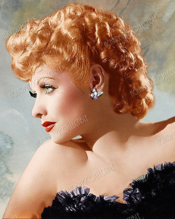 """I LOVE LUCY LUCILLE BALL  8/"""" X 10/"""" glossy photo reprint"""