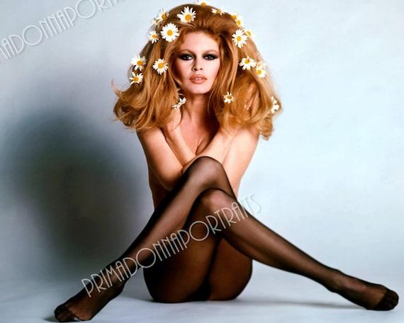 Brigitte Bardot 5x7 Or 8x10 Photo Print Hollywood 1960s Color Etsy